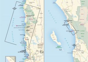 Seaside California Map Pacific Crest Trail Map northern California Printable Map oregon and