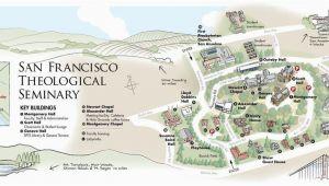 Sebastopol California Map Title San Francisco theological Seminary California Starting Point
