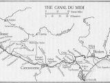 Sete Map France Canal Du Midi Wikipedia