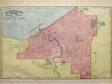 Shaker Heights Ohio Map Prints Old Rare Cleveland Ohio Antique Maps Prints