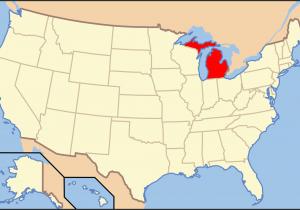 Shelby Michigan Map List Of islands Of Michigan Wikipedia