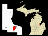 Show A Map Of Michigan Datei Bay County Michigan Incorporated and Unincorporated areas Bay