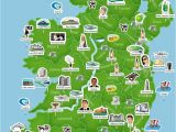 Show Map Of Ireland with Counties On It Map Of Ireland Ireland Trip to Ireland In 2019 Ireland