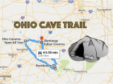 Show Map Of Ohio This Map Shows the Shortest Route to 7 Of Ohio S Most Incredible