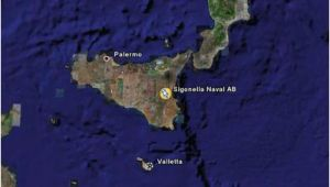 Sigonella Italy Map Naval Air Station Sigonella Installation Overview