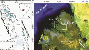 Silt Colorado Map Map Of the Study area A B the Location Of Altiplano Plateau In