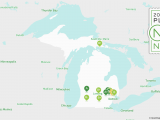 Sister Lakes Michigan Map 2018 Best Places to Live In Michigan Niche