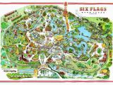 Six Flags Over Georgia Map Six Flags Over Texas Map Awesome Six Flags Over Texas Arlington Map