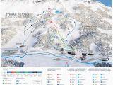 Ski In France Map Trail Map Arkhyz