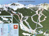 Ski In France Map Trail Map Kolaa In 1450