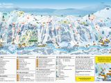 Ski In France Map Trail Map Tanndalen