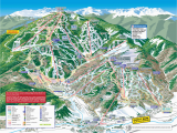 Ski Mountains In Colorado Map Trail Maps Arrowhead at Vail
