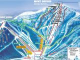 Ski Ohio Map 2007 09 Downhill Published In 2007 at Mont orford Ski Maps