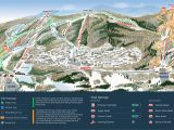 Ski Resorts Canada Map Mountain Creek Resort Trail Map Onthesnow