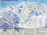 Ski Resorts In California Map Ski Resorts In California Map Klipy org