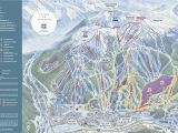 Ski Resorts In southern California Map Copper Mountain Resort Trail Map Onthesnow