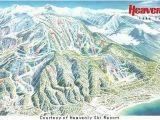 Ski Resorts In southern California Map Tahoe Ski Resorts Map Fresh southern California attractions Map