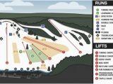 Ski Resorts Michigan Map Cannonsburg Trail Map Onthesnow