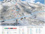 Skiing Canada Map Trail Map Arkhyz