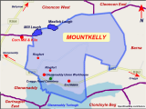 Sligo Map Of Ireland Mountkelly