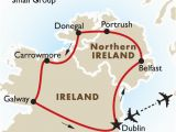 Small Map Of Ireland northern Ireland the atlantic Coast Ireland Goway