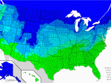 Snow Depth Map Colorado Map How Much Snow It Typically Takes to Cancel School In the U S