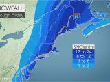 Snowfall Map New England Snowstorm Pounds Mid atlantic Eyes New England as A Blizzard