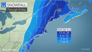 Snowfall Map New England Snowstorm Pounds Mid atlantic Eyes New England as A Blizzard