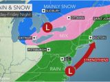 Snowfall Map New England Stormy Weather to Lash northeast with Rain Wind and Snow at