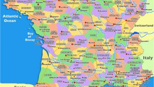 South Coast France Map Guide to Places to Go In France south Of France and Provence