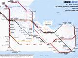 South England Train Map south Eastern Train Rail Maps