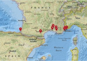 South Of France Airports Map 10 Most Amazing Destinations In the south Of France with