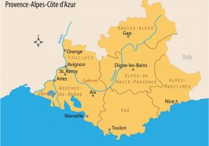 South Of France Airports Map Travel Guide to France S Beloved Provence