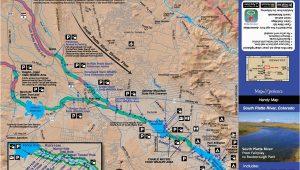 South Platte River Colorado Map Colorado Fishing Map Bundle Fishing Maps Fly Fishing Maps