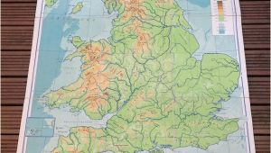 Southeast England Map England and Wales Physical Map Philips by Wafflesandsprout