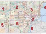 Southeast Michigan County Map Mdot Detroit Maps