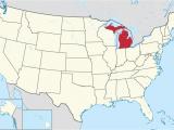 Southeastern Michigan Map Michigan Wikipedia