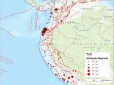 Southern California Fault Lines Map Fault Lines Map Hayward Fault Zone Map Canada and Us 2019 southern