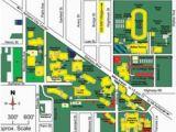 Southern oregon University Map sou Campus Map Park Ideas