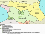 Soviet Georgia Map northern Part Of soviet Caucasus In 1922 Mountain Autonomous