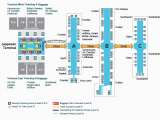 Spain Airports Map International A Look Inside the Terminal and Concourses at Denver International