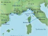 Spain areas Map Map Of Italy and Surrounding areas Cruising the Rivieras Of