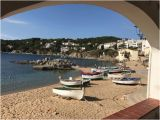 Spain Beaches Map Beach In Palafrugell Picture Of Creative Catalonia Bike Holidays