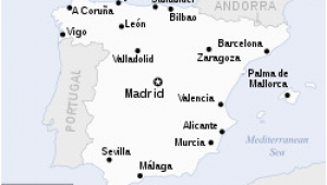Spain Capital Map Spain Wikipedia
