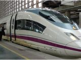 Spain High Speed Train Map Ave S103 High Speed Trains