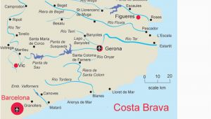 Spain Map Costa Brava Map Of Costa Brave and Travel Information Download Free Map Of