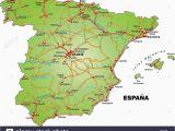 Spain Map Malaga Region Map Od Spain Stockfotos Map Od Spain Bilder Alamy