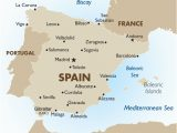 Spain Map Of Costas Highlights Of Barcelona
