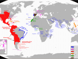 Spain On A Map Of the World Spanish Empire Anachronous Maps Map Portuguese Empire
