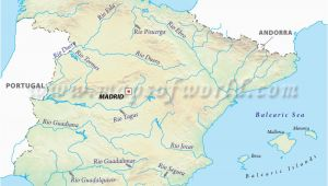 Spain River Map List Of Rivers Of Spain Wikipedia Site About Maps Of Cities Of the